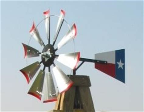 windmill  fan blades kit   texas flag