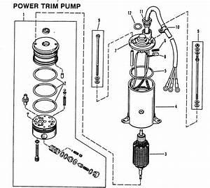 Mercury Marine 75 Hp  4 Cylinder  Power Trim Pump