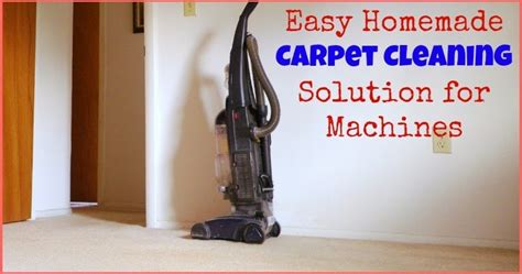 Easy Homemade Carpet Cleaning Solution For Machines Diy Hydraulic Press Brake Air Freshener For Car Lense Cleaner Window Draft Snake Small Backyard Greenhouse Tile Floor Cost Phone Holder Charging Lunch Box Ideas