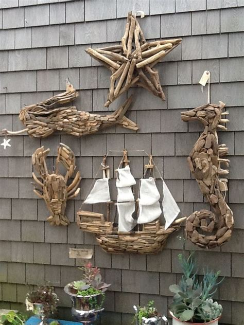 driftwood wall decoration recycled crafts
