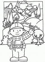 Bob Builder Coloring Printable Builders Pdf Aggiustatutto Sheets Colorare Coloringhome sketch template