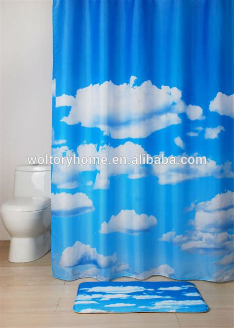 sale bathroom set shower curtain and matching pp bath