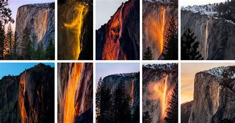 Yosemite Waterfall Turns Into Firefall The New