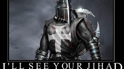 Templar Knights Crusader Crusaders Christian Quotes Wallpapers