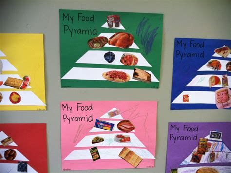 Food Pyramid Crafts For Preschoolers Vinegret 117c1540e2d8