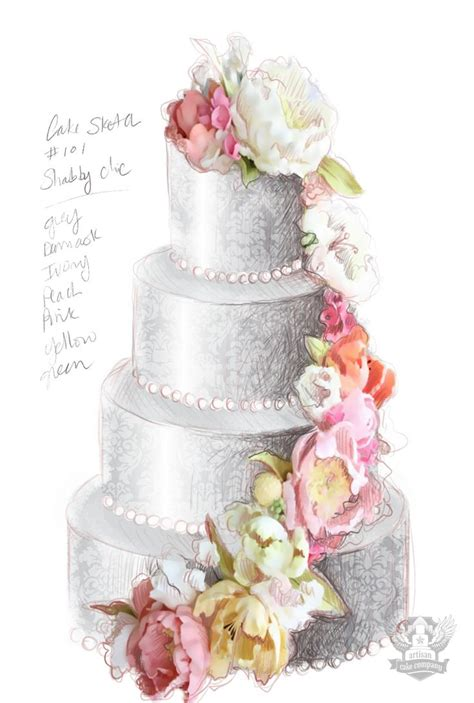 shabby chic wedding cake ideas 17 best ideas about shabby chic cakes on pinterest vintage cakes elegant cakes and pretty