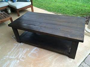 diy rustic x coffee table plans by ana white handmade With how to make a rustic coffee table