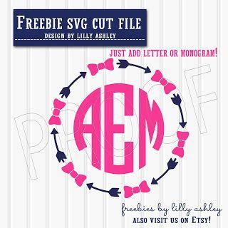 This pretty set of spring wreath free monogram frame svg files is easy to cut and ready for i've also included the spring wreath free monogram frame svg files with an offset, perfect for print & cut stickers on your silhouette cameo / portrait. Free SVG cut file for monograms | Silhouette Cameo | Pinterest