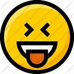 Icon Stress Laughing Emoji Premium Friendly Icons