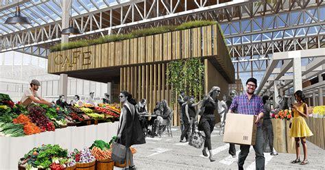Market  New Public Center Of Local Communities