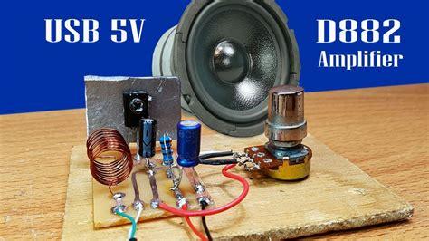 How Make Easy Mini Amplifier Transistor Using