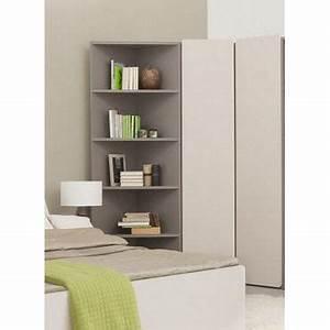 colonne de rangement d angle anzio achat vente meuble With rangement angle