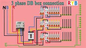 3 Phase Distribution Db Box Wiring Diagram