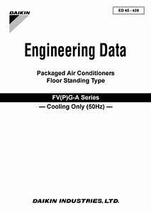 Daikin Engineering Data Packaged Air Conditioners Floor