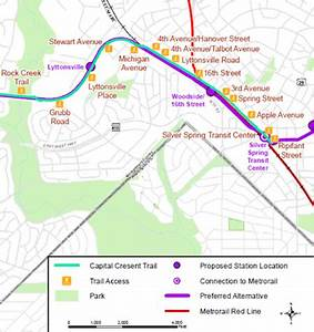 Will Maryland build a trail with the Purple Line in Silver ...