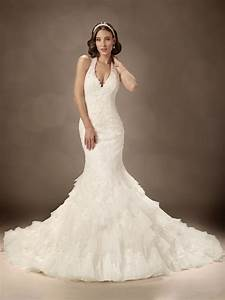 halter wedding gown With halterneck wedding dress