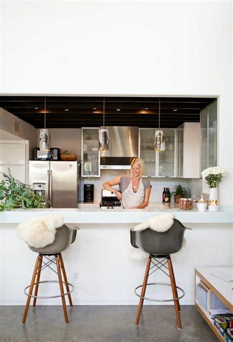 cuisine de bar comment adopter le tabouret de bar dans l 39 intérieur moderne