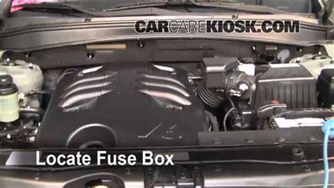 Hyundai Santa Fe Engine Size by Headlight Change 2007 2012 Hyundai Santa Fe 2009 Hyundai