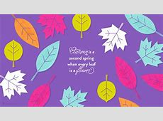October 2016 Fall Leaves Calendar Wallpapers Sarah Hearts
