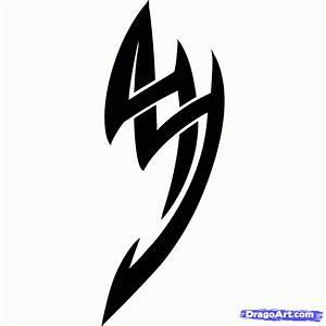 Easy to Draw Tribal Tattoo, Step by Step, Tribal Art, Pop ...