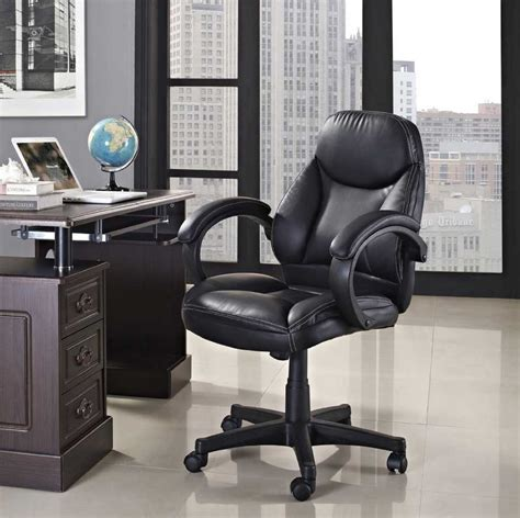cozy and best ergonomic office chair design with black