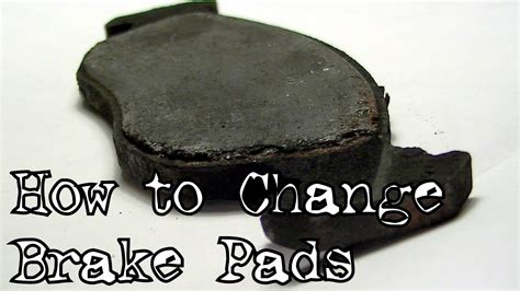 How To Change Brake Pads (on A Peugeot 306)  Youtube