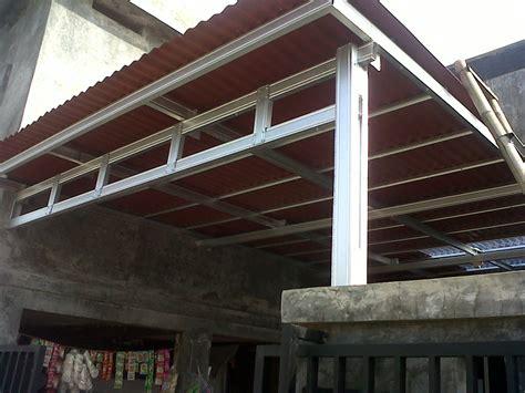 lovely model rumah minimalis atap spandek