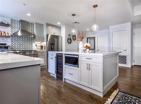 west island kitchen west hollywood open grey white kitchen remodel eden builders