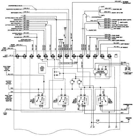 bmw  ei schematic diagram  circuit