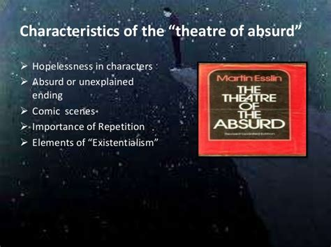 absurd theater godot waiting theatre elements