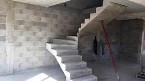 Prix Escalier Beton : prix d 39 un escalier co t moyen tarif de pose prix pose ~ Mglfilm.com Idées de Décoration