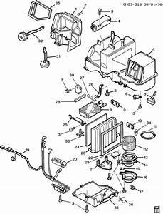 1995 Buick A  C  U0026 Heater Module Asm