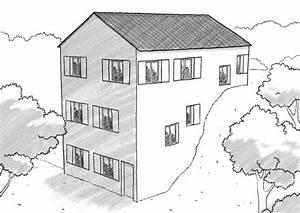 plan maison a etage sur terrain en pente ooreka With maison sur terrain rectangulaire