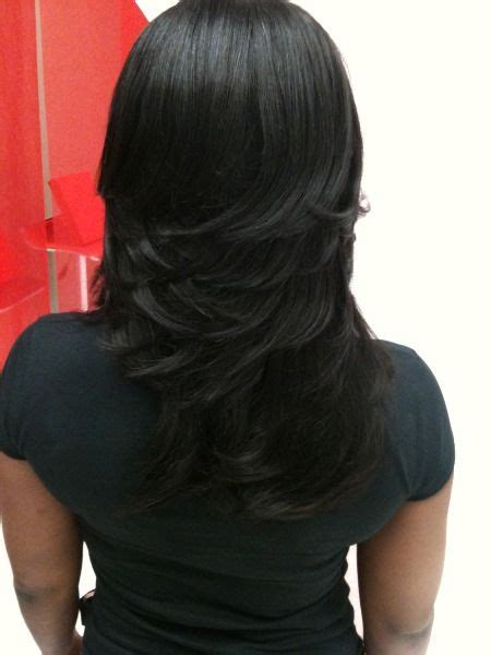 Sew In Layered Bob Hairstyles by Layered Sew In Weaves Razor Cuts Layered Weaves