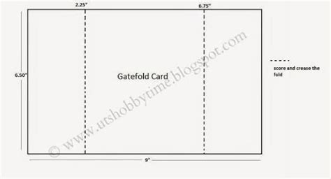 gatefold card template google search invites