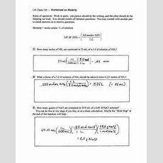Molar Mass Practice Worksheet Homeschooldressagecom