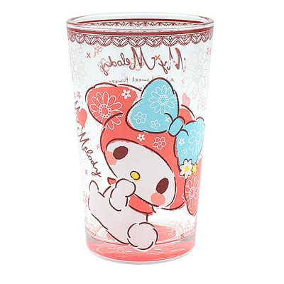 Check out our my melody cup selection for the very best in unique or custom, handmade pieces from our tumblers & water glasses shops. Buy Sanrio My Melody Flowers and Lace Slim Glass Cup at ARTBOX