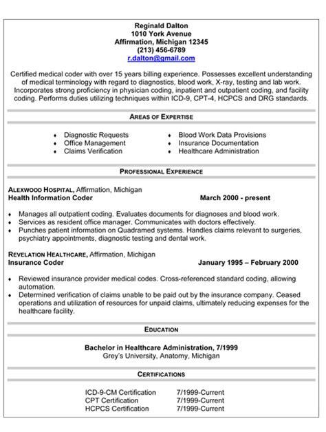 resume billing and coding billing and coding resume berathen