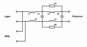Adsl Filter Diagram