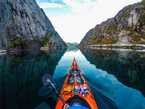 Beauty Of Norway As Seen From A Kayak Grindtvcom