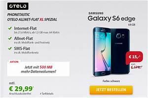 Otelo Internet Flat : sparhandy samsung galaxy s6 edge mit allnet flat ~ Yasmunasinghe.com Haus und Dekorationen