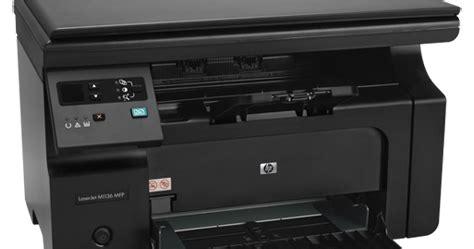 Hp laserjet pro m1136 mfp series full feature software and driver full feature software and driver for mac os. HP LaserJet Pro M1136 Multifunction Printer Driver