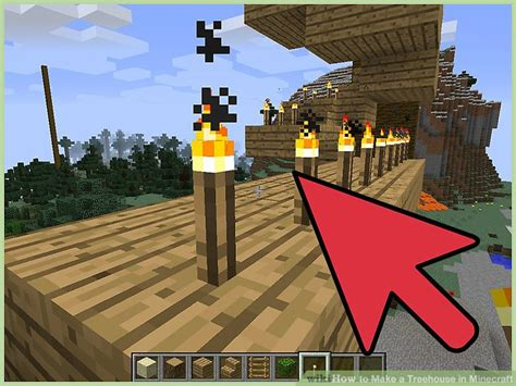 How To Make A Treehouse In Minecraft (with Pictures)-wikihow