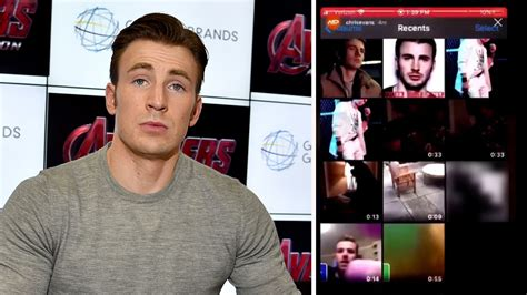 Chris Evans accidentally shares nude image in internet gaffe