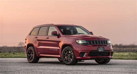 Hennessey Didn't Waste Any Time Making A 850-hp Jeep Grand