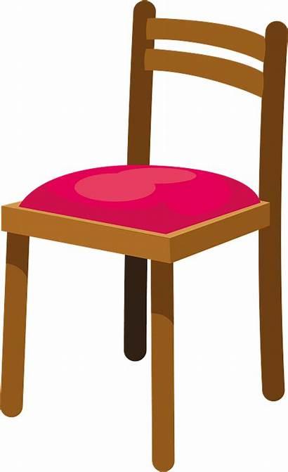 Chair Clipart Creazilla Chairs Transparent