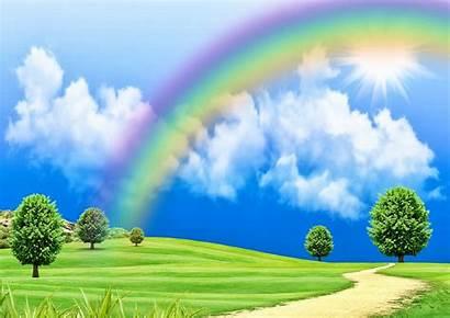 Rainbow Wallpapers Rainbows Backgrounds Desktop Places Quebec