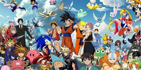 All Anime In One Wallpaper - all anime characters wallpaper together wallpapers hd