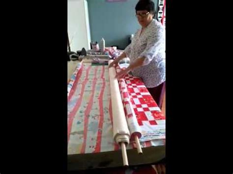 easy quilt basting   noodle method youtube