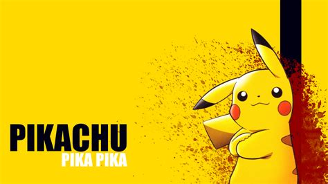 Anime Pikachu Wallpaper - pikachu wallpaper